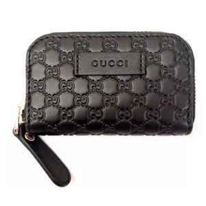 NEW Gucci Microguccissima money case
